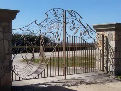 Ворота кованые ВК42