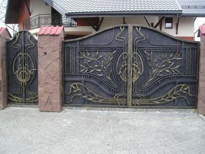 Ворота кованые ВК45