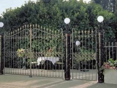 Ворота кованые ВК49