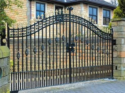 Ворота кованые ВК51