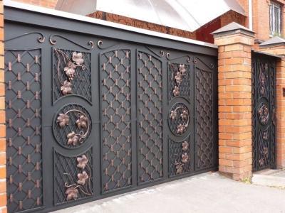 Кованые ворота ВК78