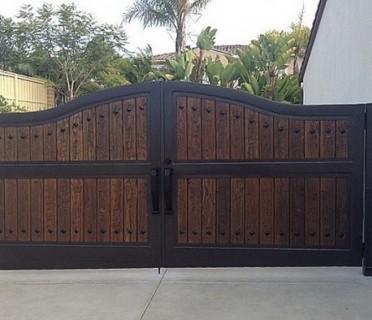 Ворота кованые ВКД03