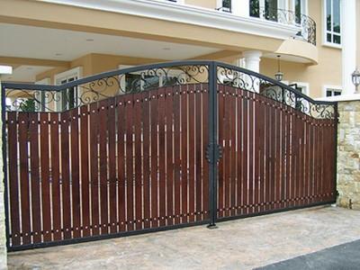 Ворота кованые ВКД12