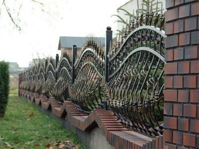 Забор кованый ЗБК02