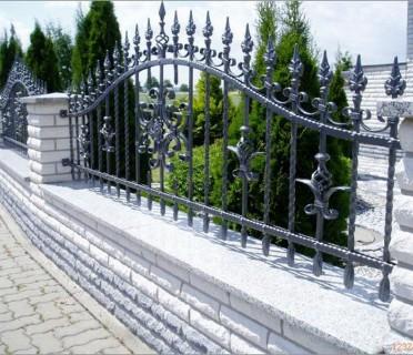 Забор кованый ЗБК06