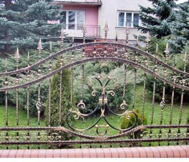 Забор кованый ЗБК07