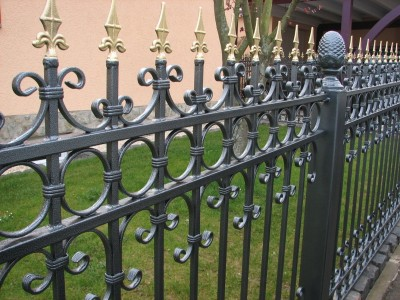 Забор кованый ЗБК11