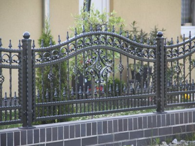 Забор кованый ЗБК18